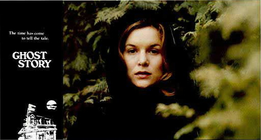 Alice Krige played the ghost in the film Ghost Story.